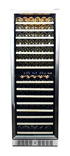 NewAir-AWR-1600DB-Premier-Gold-Series-160-Bottle-Built-In-WIne-Cooler-StaInless-SteelBlack-0-2