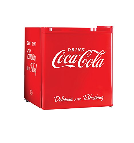 Nostalgia-CRF170COKE-Coca-Cola-17-Cubic-Foot-Refrigerator-with-Freezer-Compartment-0