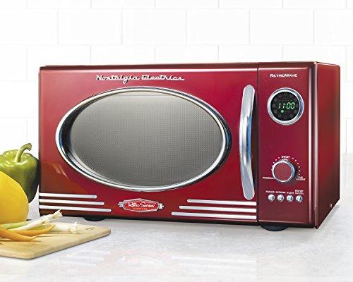 Nostalgia-Electrics-RMO400RED-Retro-Series-9-CF-Microwave-Oven-Red-0-0