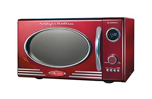 Nostalgia-Electrics-RMO400RED-Retro-Series-9-CF-Microwave-Oven-Red-0