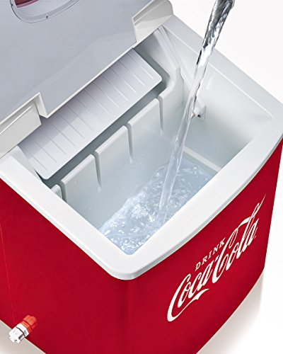 Nostalgia-ICE100COKE-Coca-Cola-26-Pound-Automatic-Ice-Cube-Maker-0-2