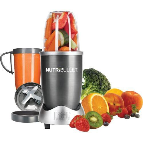 NutriBullet-Gray-BlenderMixer-8-piece-Set-Certified-Refurbished-0
