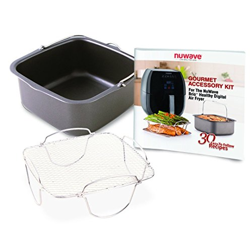 Nuwave-Brio-Digital-Air-Fryer-3-Quart-Capacity-Reversible-Rack-Baking-Pan-Recipe-Book-Included-0-0