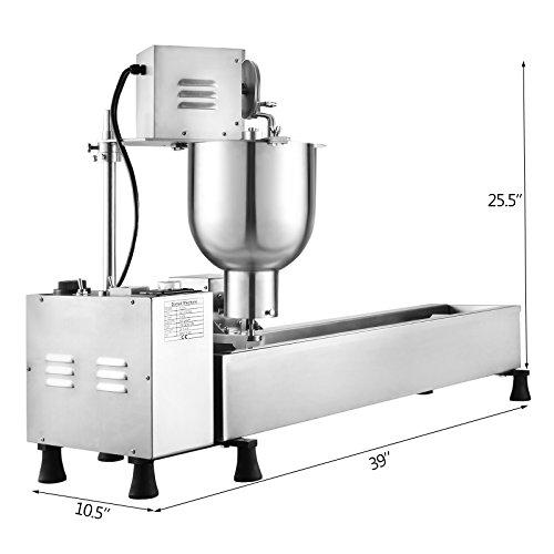 OrangeA-Automatic-Donut-Maker-3-Sets-Mold-Donut-Making-Machine-6L-Commercial-Donut-Maker-3KW-Wider-Oil-Tank-4-10cm-Donut-Maker-0-0
