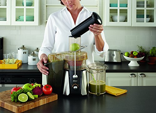Oster-JusSimple-5-Speed-Easy-Clean-Juice-Extractor-with-Extra-Wide-Feed-Chute-FPSTJE9020-000-1000W-BlackSilver-0-1