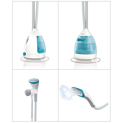 PHILIPS-GC534-CLEAR-TOUCH-GARMENT-STEAMER-STAND-STEAM-IRON-2000WHangLock-40GMIN-220V-0-2