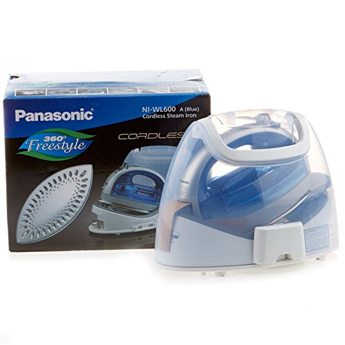 Panasonic-360-Freestyle-Cordless-Iron-with-Carrying-Case-NI-WL600-BLUE-COLOR-0