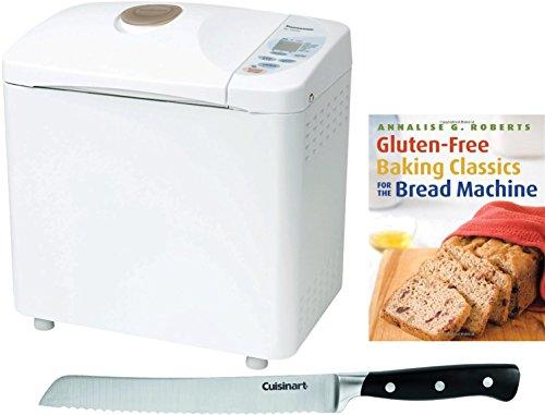 Panasonic-Automatic-Bread-Maker-w-Gluten-Free-Bread-Recipe-Book-Bread-Knife-0