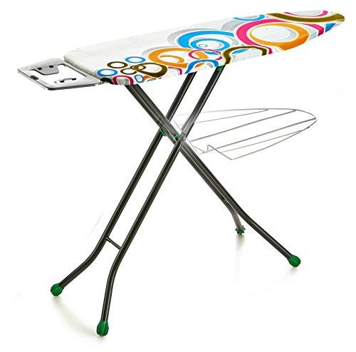 Perilla-Present-4-Leg-Aluminum-Ironing-Board-with-Heat-Resistant-Cloth-Cover-0