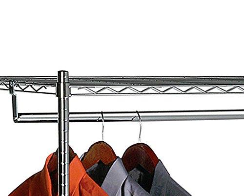 Portable-Wardrobe-Closet-w-Premium-Cotton-CanvasDuck-Cover-72-75Hx36Wx18D-0-1
