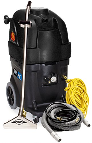 Powr-Flite-PFX1385MAX2-Max-Hot-Water-Carpet-Extractor-Starter-Pack-13-gal-Capacity-Black-0