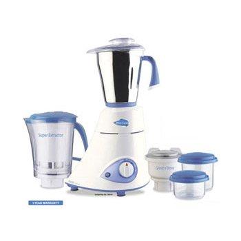 Preethi-Blue-Leaf-Platinum-550-Watts-3-Jar-Indian-Mixer-Grinder-110-Volts-0