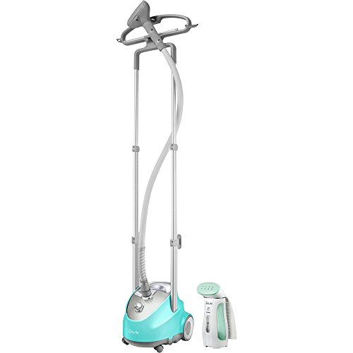 Professional-Garment-Steamer-and-Handheld-Travel-Steamer-BlueGreen-0