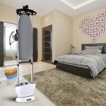 PurSteam-Dual-Pro-Iron-Pressurized-Garment-Steamer-with-Professional-Heavy-Duty-1600-Watt-Power-with-1-Liter-Water-Tank-Built-in-Ironing-Board-and-Deluxe-Garment-Hanger-with-Hands-Free-Foot-Pedal-0-2