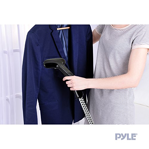 Pyle-Modern-PSTMH22-Pure-Clean-Clothing-and-Garment-Steamer-with-Wrinkle-Reducing-Steam-for-Clothes-Garments-Fabrics-and-More-Clean-Blue-0-2