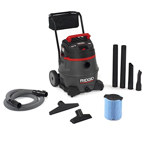 Ridgid-50348-1400RV-WetDry-Vacuum-with-Cart-14-gal-Red-0