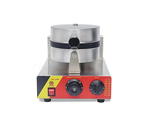 Rotary-Head-Stainless-Steel-Electric-Oven-Grid-Bread-Maker-Waffle-Baking-Machine-with-Timer-0-1