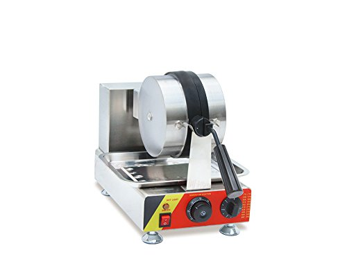 Rotary-Head-Stainless-Steel-Electric-Oven-Grid-Bread-Maker-Waffle-Baking-Machine-with-Timer-0-2