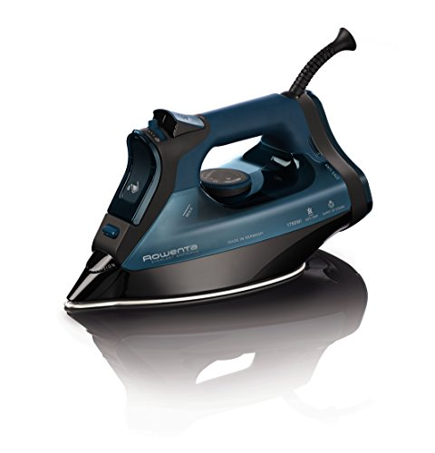 Rowenta-DW7180-Everlast-1750-Watt-Anti-Calc-Steam-Iron-Stainless-Steel-Soleplate-with-Auto-Off-400-Hole-Blue-0