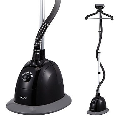 SALAV-GS34-BJ-Performance-Garment-Steamer-with-360-Swivel-Multi-hook-Hanger-in-Black-0-0