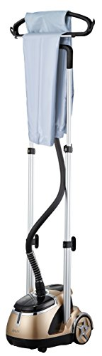 SALAV-Limited-Edition-Professional-Series-Dual-Bar-Garment-Steamer-with-Foot-Pedals-GS49-DJ-Gold-0-2