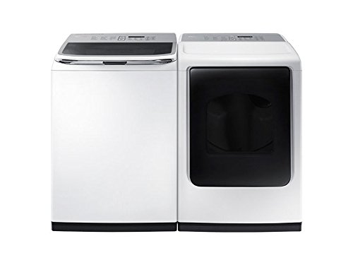 SAMSUNG-ACTIVEWASH-SPECIAL-Mega-Capacity-HE-Top-Load-Laundry-System-with-Matching-GAS-Dryer-in-Pure-White-Finish-WA50K8600AWDV45K7600GW-0
