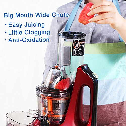 SKG-New-Generation-Wide-Chute-Anti-Oxidation-Slow-Masticating-Juicer-240W-AC-Motor-60-RPMs-3-Inches-Big-Mouth-Vertical-Masticating-Cold-Press-Juicer-0-0