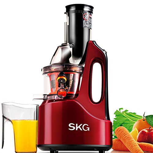 SKG-New-Generation-Wide-Chute-Anti-Oxidation-Slow-Masticating-Juicer-240W-AC-Motor-60-RPMs-3-Inches-Big-Mouth-Vertical-Masticating-Cold-Press-Juicer-0
