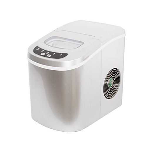 SMETA-Portable-Compact-Ice-Maker-Machine-Counter-Top-Produce-26lbdaySilver-0-2