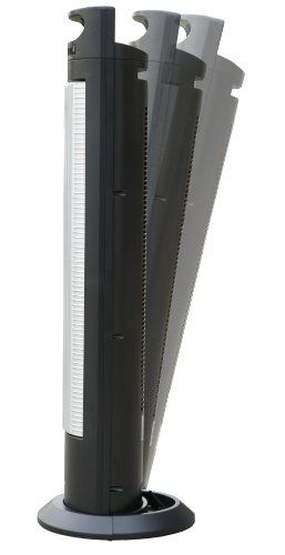 SPT-SF-1523-Reclinable-Tower-Fan-with-Ionizer-Black-and-Silver-0-1