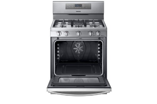 Samsung-NX58F5700WS-Stainless-Steel-Gas-Range-with-True-Convection-0-0
