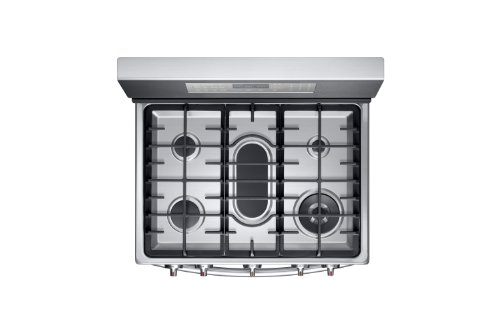 Samsung-NX58F5700WS-Stainless-Steel-Gas-Range-with-True-Convection-0-1