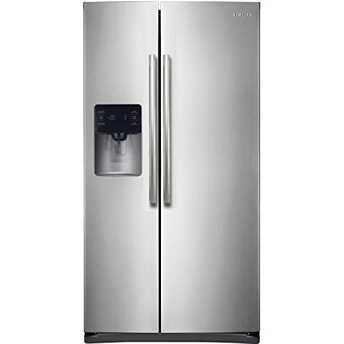 Samsung-RS25H5111SR-Energy-Star-245-Cu-Ft-Side-by-Side-RefrigeratorFreezer-with-External-WaterIce-Dispenser-and-In-Door-Ice-Maker-Stainless-Steel-0