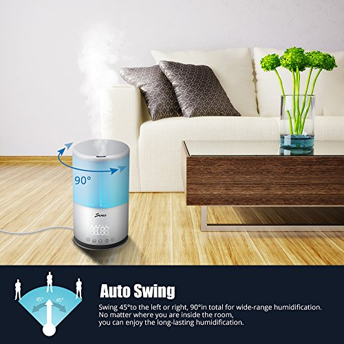 Seneo-30L-Cool-Mist-Humidifier-Ultrasonic-Personal-Humidifiers-with-Smart-Humidity-Control-Auto-Swing-9-Timer-Setting-7-Color-Changing-LED-Lights-3-Mist-Modes-for-Whole-House-and-Office-0-2