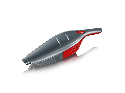 Severin-2-in-1-Cordless-Rechargeable-Upright-Stick-with-Detachable-Handheld-Vacuum-Cleaner-Includes-Brush-Crevice-Tools-RedPlatinum-Grey-0-2