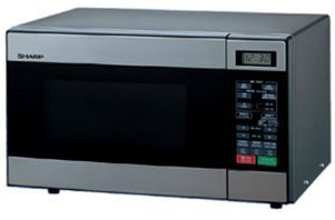 Sharp-R-299-Microwave-Oven-Stainless-Steel-220V-Not-for-USA-Voltage-0