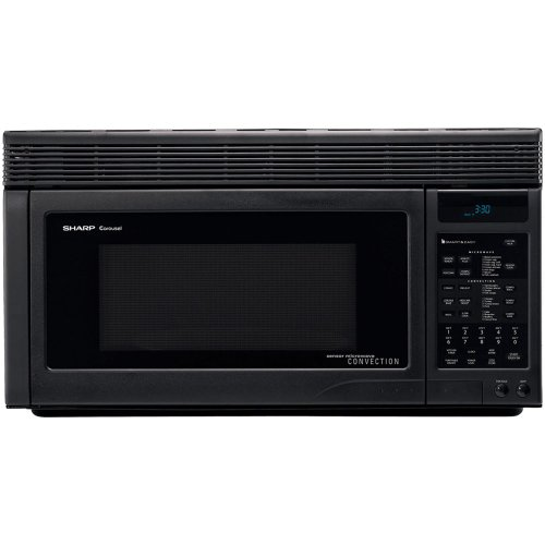 Sharp-R1875T-850W-Over-the-Range-Convection-Microwave-11-Cubic-Feet-Black-0