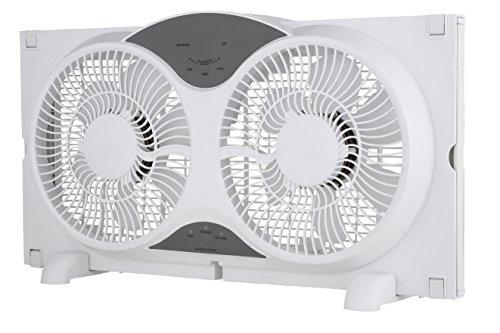 Sharper-Image-9-ETL-Certified-Twin-Window-Fan-with-Remote-Control-0-0