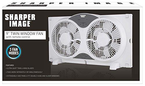 Sharper-Image-9-ETL-Certified-Twin-Window-Fan-with-Remote-Control-0-2