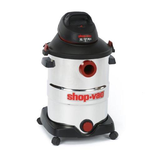 Shop-Vac-5986200-12-Gallon-60-Peak-HP-Stainless-Steel-Wet-Dry-Vacuum-0-0