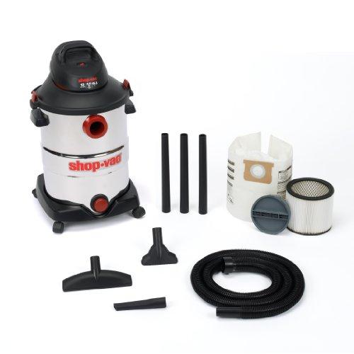 Shop-Vac-5986200-12-Gallon-60-Peak-HP-Stainless-Steel-Wet-Dry-Vacuum-0