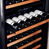 Smith-Hanks-RW428DR-166-Bottle-Dual-Zone-Wine-Refrigerator-24-Inch-Width-Built-In-or-Free-Standing-0-1