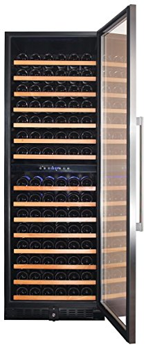 Smith-Hanks-RW428DR-166-Bottle-Dual-Zone-Wine-Refrigerator-24-Inch-Width-Built-In-or-Free-Standing-0-2