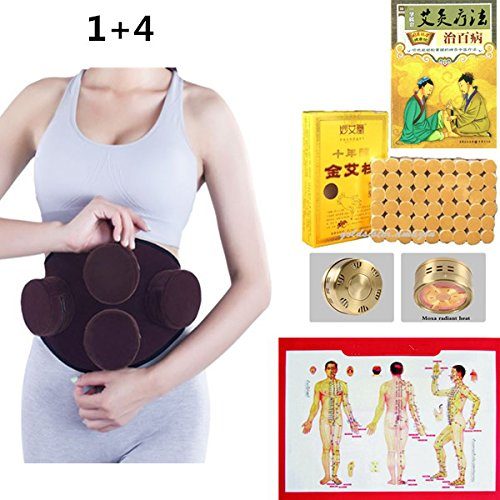 Smokeless-moxa-purifier-14-package-Moxibustion-for-Acupuncture-Treatment-plus-copper-box-pure-moxa-stick-moxibustion-guide-book-English-acupressure-pamphlet-0