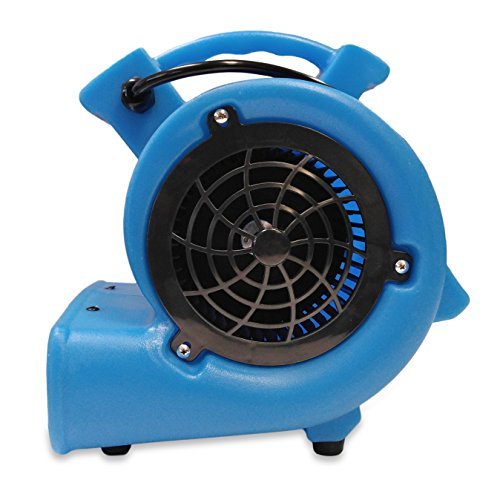Soleaire-Mini-Storm-112-HP-380-CFM-Mini-Air-Mover-Carpet-Dryer-Floor-Blower-Fan-for-Home-Use-Blue-0-1