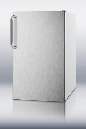 Summit-FS407LXSSTB-20-28-cuft-Capacity-Under-Counter-Upright-Freezer-Manual-Defrost-20-Degree-Capable-Pull-out-Drawers-Stainless-0
