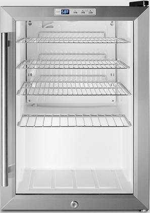 Summit-SCR312LPUB-17-Beverage-Center-with-Factory-Installed-Lock-Automatic-Defrost-Countertop-Dimensions-Recessed-LED-Lighting-Adjustable-Chrome-Shelves-100-CFC-0