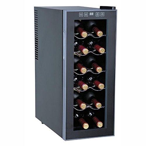 Sunpentown-WC-1271-12-Bottle-Thermo-Electric-Slim-Wine-Cooler-0
