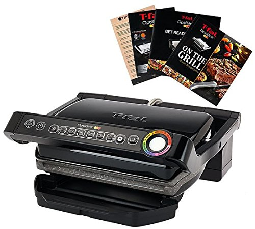 T-Fal-Grill-with-Ceramic-Plates-Recipe-Book-0