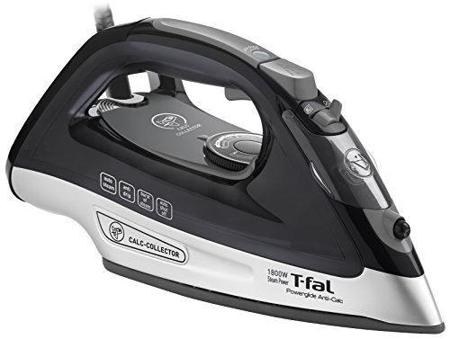 T-fal-FV2640U0-Powerglide-Anticalc-Non-Stick-and-Scratch-Resistant-Durilium-Ceramic-Soleplate-Steam-Iron-with-Anti-Drip-and-Auto-off-System-0